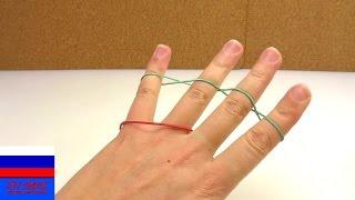 Фокус с двумя резинками на пальцах объяснение в чем секрет