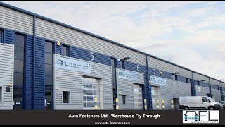Auto Fasteners Ltd - New Warehouse Extension Fly Through