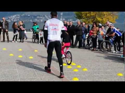 No limits cycling by George Himonetos 04-11-2012 Giannena video 3