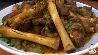 这才是真正的酱爆香辣羊蹄子,出锅直接啃,看饿了