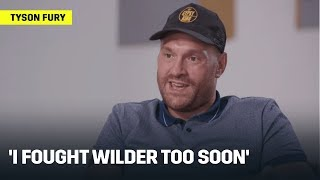 Tyson Fury On 'Fighting Wilder Too Soon,' Mental Health, & Motivation To Turn Life Around