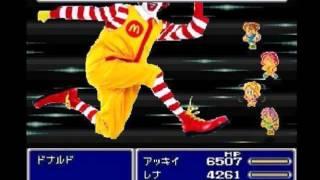 【ドナルドFF5】Last Battle: Neo Ronald McDonald【ニコニコMAD】