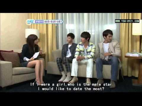 Yoon Sang Hyun 尹相鉉 ユン・サンヒョン 윤상현 尹尚賢 on Korean Interview @ 2011.03.17 (Eng. Sub)