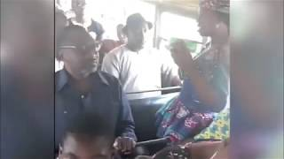 Must Watch As Billionaire Femi Otedola Enters A Public Molue Bus In Lagos And London