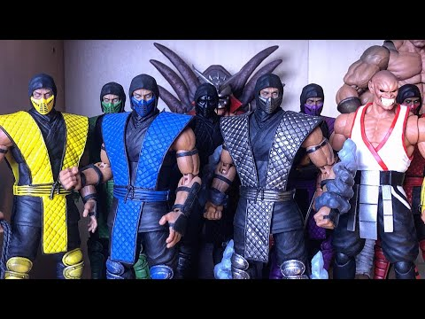 Storm Collectibles Mortal Kombat/ Street Fighter/ Tekken Collection Tour #1