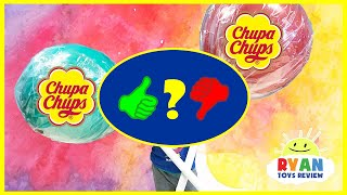 World's Largest Giant Chupa Chups Lollipops Magic Transform Candy! Kids Pretend - Video Review