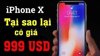 Tại sao iPhone X có giá 999 USD thay vì 1 000 USD