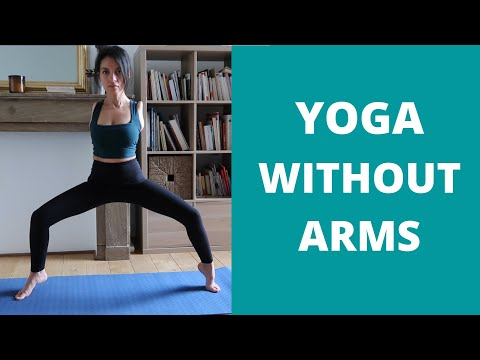 Armless Yoga Challenge//Motivation Relaxation