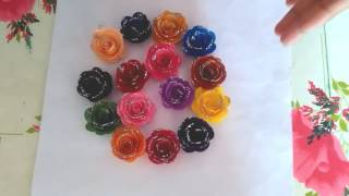 HOw TO MAKE VERY EASY QUILLING FLOWERS || BEAUTIFUL PAPER ROSE FLOWERS