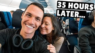Flying from Denmark to Mexico (we need a break)
