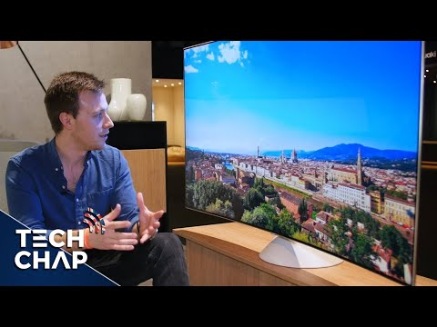 Samsung QLED TV First Look! – 4K HDR Quantum Dot! | The Tech Chap