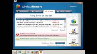 Windows Restore & Windows Recovery FREE Virus Removal
