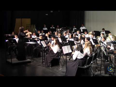 Leesville Road Middle School Honors Band performs Moscow, 1941 on 3/18/2019