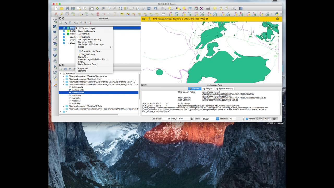 QGIS Training - Module 3: Creating a Basic Map