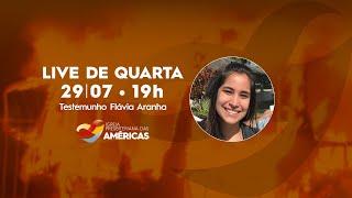 LIVE 29.07.20   Rev. Jr Vargas e Flávia Aranha