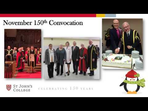 St John's College Holiday Greeting 2016