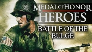 Medal of Honor: Heroes - Battle of the Bulge - Belgium campaign (PSP) Full walkthrough