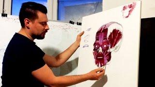 Анатомия в портрете. Урок Андрея Самарина.