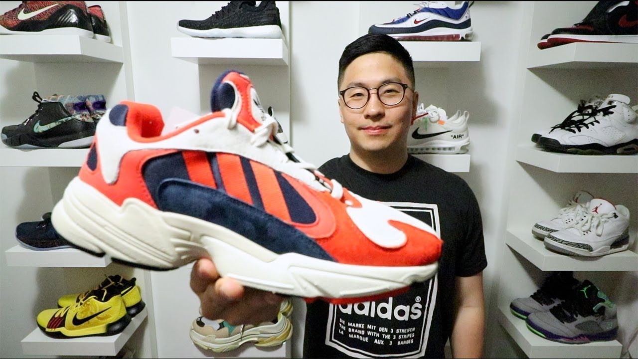 release date 4e4de 32f41 REVIEW + ON FEET   ADIDAS YUNG-1 (Best Adidas shoe of 2018)