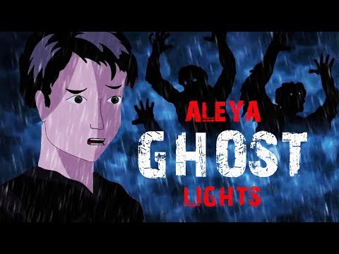 Scary Story || Aleya ghost lights (Animated in hindi) |TAF|
