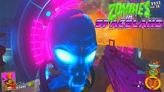 ZOMBIES IN SPACELAND BOSS FIGHT!! MAIN EASTER EGG!! INFINITE WARFARE ZOMBIES!!