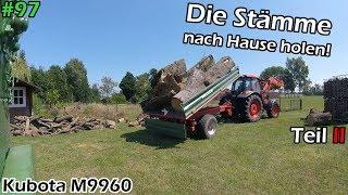 Traktorvlog | Holz nach Hause fahren | Kubota M9960 | Thaler | Welger | Mr. Moto