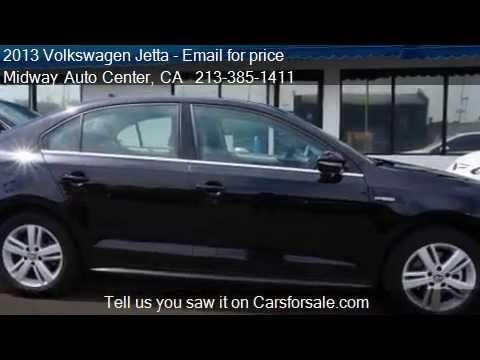 2013 Volkswagen Jetta Hybrid SE - for sale in Los Angeles, C