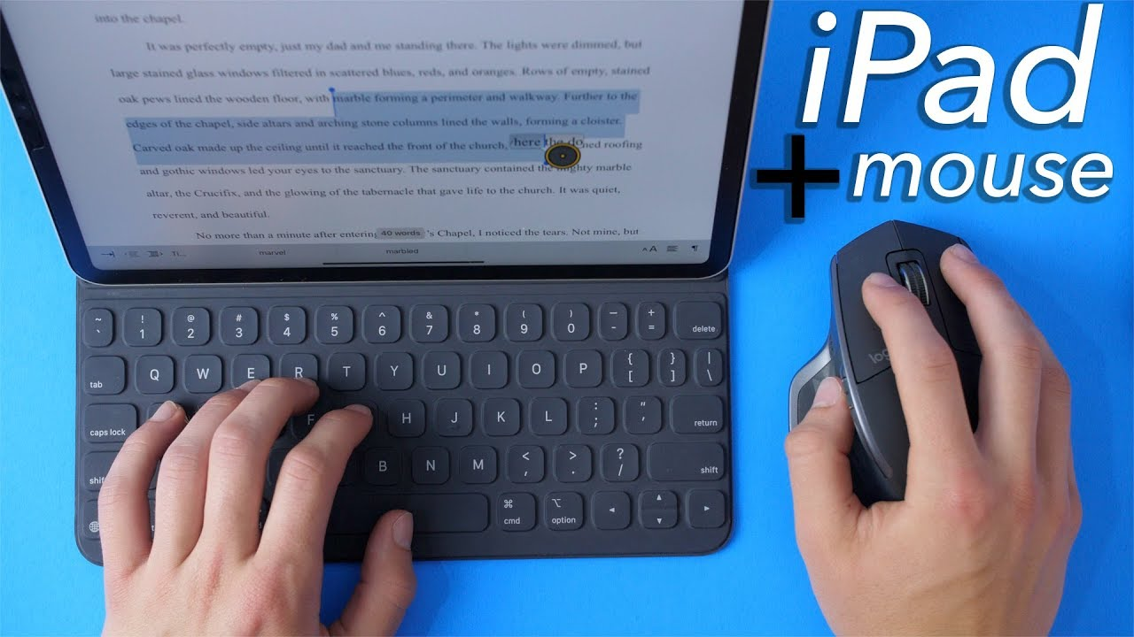 How to use a mouse or trackpad on your iPad with iPadOS