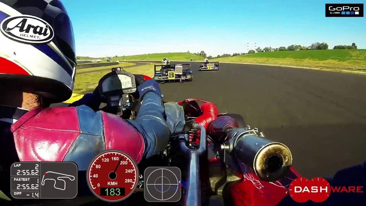 Superkarts Australia Race 2, SMP oz rd1 2015, Lap record