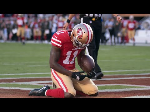 Marquise Goodwin Loses His Newborn Child Right Before Game and Breaks Down in Endzone After TD Catch
