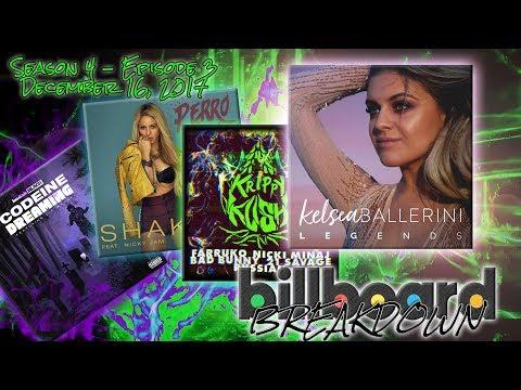 Billboard BREAKDOWN - Hot 100 - December 16, 2017