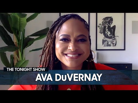 Ava DuVernay Taught Oprah How to Up Her Instagram Game  The Tonight Show