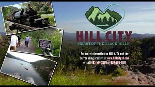 Hill City South Dakota Overview    Black Hills