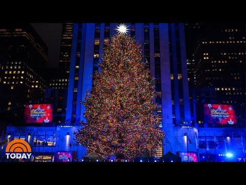 Rockefeller Center Christmas Tree Is Shining Bright  TODAY