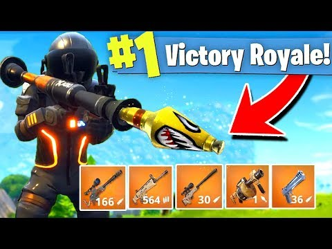 *NEW* LEGENDARY WEAPONS ONLY GAMEMODE Solid Gold Fortnite Battle Royale