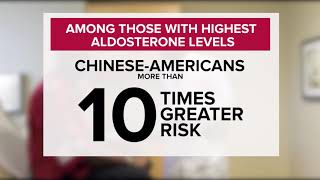Study: hormone linked to high blood pressure increases diabetes risk, too