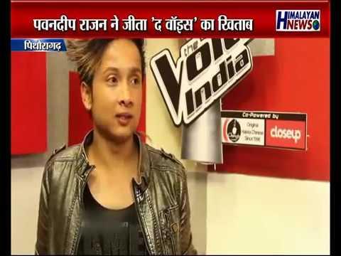 "Pawandeep Rajan Becomes the ""Voice of India""    पवनदीप राजन बने ""वौइस् ऑफ़ इंडिया"