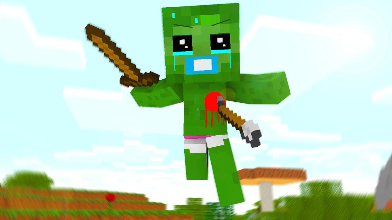 Baby Zombie Life 10 - Craftronix Minecraft Animation