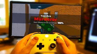BECOME MURDERER FASTER ON XBOX! (Roblox Murder Mystery 2)