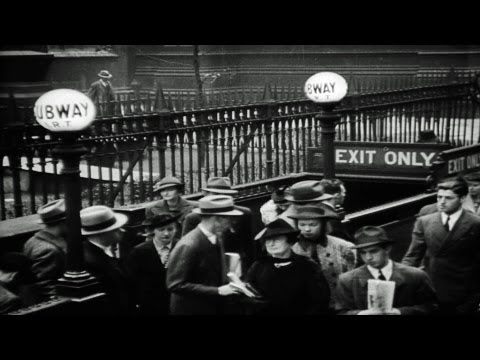 HD Stock Footage The City - Portrait of America 1930