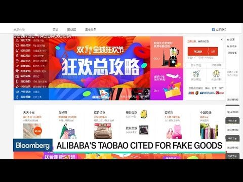 Alibaba Put on 'Notorious Market' List for Fake Goods