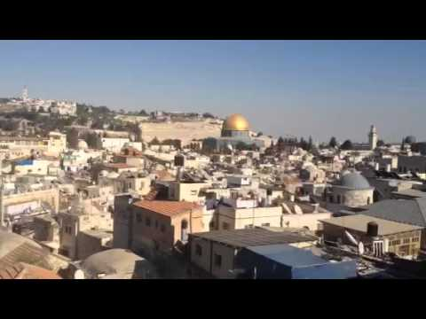 The most amazing view of Jerusalem