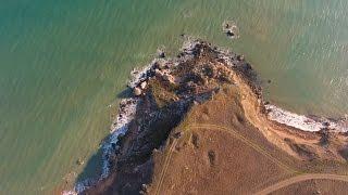 Крымъ 4К: Рибальське узбережжі отъ Кызъ-Аульскаго маяка до Кітей