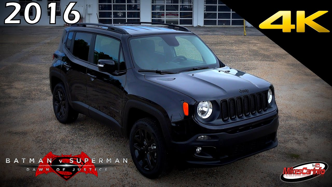 Jeep renegade batman