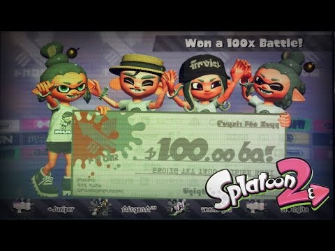 I WON A 100x BATTLE?! | Splatoon 2 Retro vs. Modern Splatfest Stream Highlights | Juniper