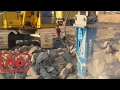 Powerful tools for quarrying -Quarrying tools - Quarrying in the mountains #1  | Technology CNC