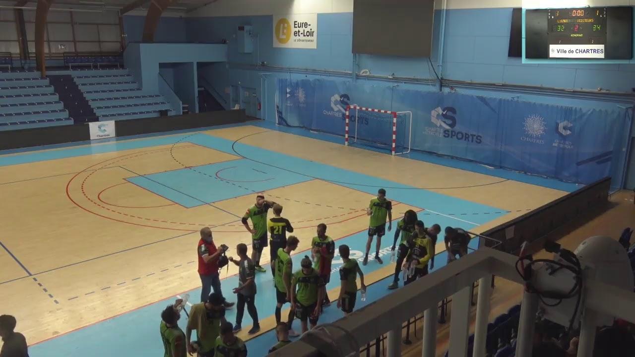 Premier match contre Chartres suivez le Live à 19h