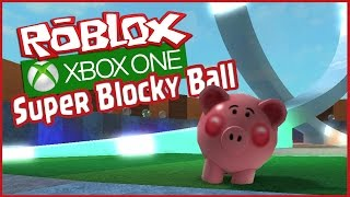 "ROBLOX XBOX - Super Blocky Ball Multiplay Gameplay ""FIRST PLACE!"" (Roblox Xbox One Edition) SBB"