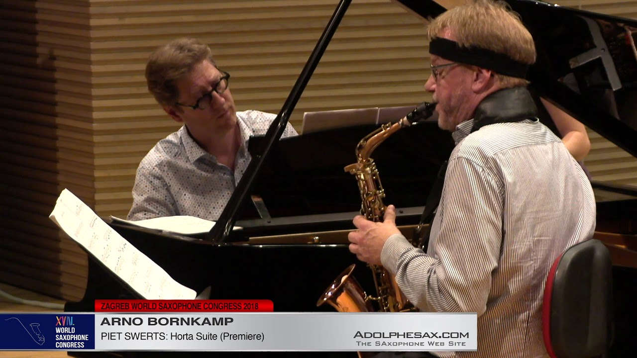 Horta Suite by Piet Swerts   Arno Bornkamp   XVIII World Sax Congress 2018 #adolphesax
