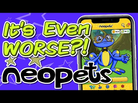 Neopets Finally Got Updated And Now It's Worse (The Neopets Experience #8)